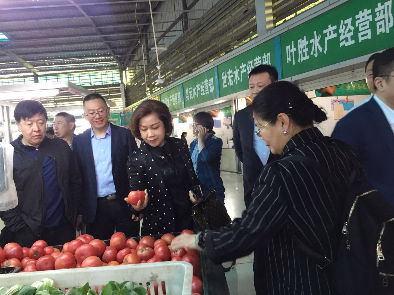 """""""漕河泾""""菜市场考察"""
